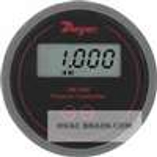 """Dwyer Instruments DM-2001-LCD, Differential pressure transmitter, range 100"""" wc, 249 Pa, 254 mm wc, 249 mbar, with LCD"""