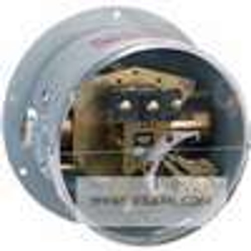 Dwyer Instruments DPA-7033-153-61, Differential pressure switch, brass bellows, range 0-10 psid (0-07 bar), max pressure 50 psig (35 bar), min deadband 15 psid (10 bar)