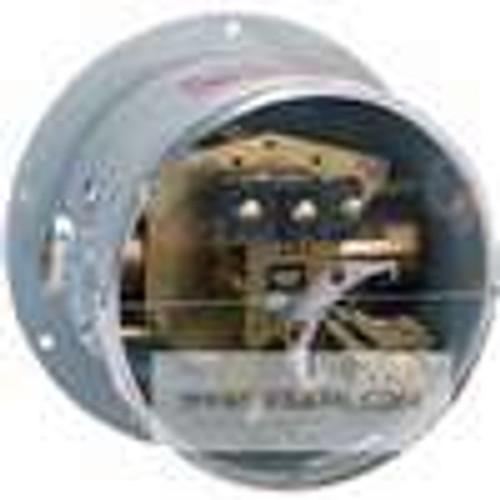 Dwyer Instruments DPA-7033-153-64, Differential pressure switch, brass bellows, range 0-30 psid (0-21 bar), max pressure 300 psig (207 bar), min deadband 60 psid (41 bar)