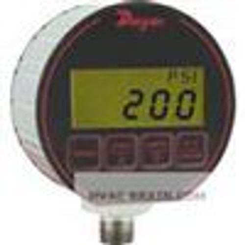 "Dwyer Instruments DPG-202, Digital pressure gage, selectable engineering units: 1500 psig, 1055 kg/cm, 1034 bar, 3054"" Hg, 3461 ft wc, 3373 ft seawater @ 4¡C, 1034 kPa, 240 oz/in, 4152"" wc, 1034 mbar, 1055 cm wc, 7757 mm Hg"