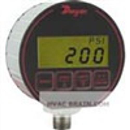 "Dwyer Instruments DPG-204, Digital pressure gage, selectable engineering units: 5000 psig, 3515 kg/cm, 3448 bar, 1018"" Hg, 1154 ft wc, 1124 ft seawater @ 4¡C, 3448 kPa, 800 oz/in, 1384"" wc, 3448 mbar, 3515 cm wc, 2586 mm Hg"