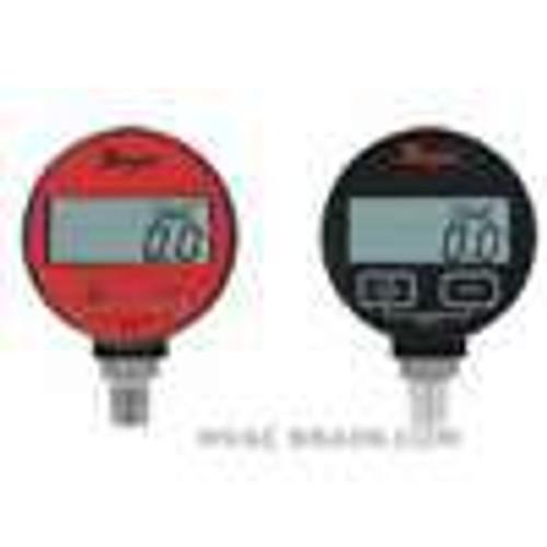 "Dwyer Instruments DPGA-09, Digital pressure gage, range 0 to 200 psi, selectable engineering units: 2000 psig, 1406 kg/cm, 1379 bar, 4072"" Hg, 4613 ft wc, 1379 kPa, 3200 oz/in, 01 psi resolution"