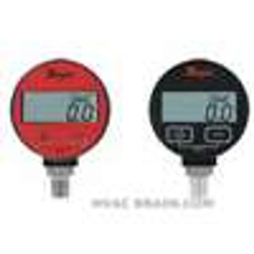 "Dwyer Instruments DPGA-10, Digital pressure gage, range 0 to 300 psi, selectable engineering units: 3000 psig, 2109 kg/cm, 2068 bar, 611"" Hg, 692 ft wc, 2068 kPa, 4800 oz/in, 01 psi resolution"