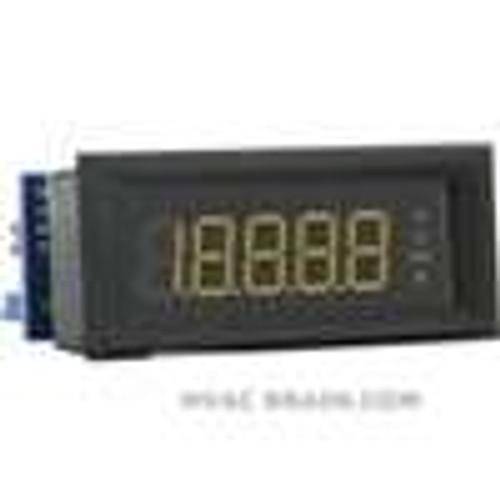 Dwyer Instruments DPML-401, LCD digital panel meter, amber segments