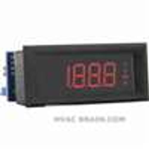 Dwyer Instruments DPMP-401, LCD digital process meter, amber segments