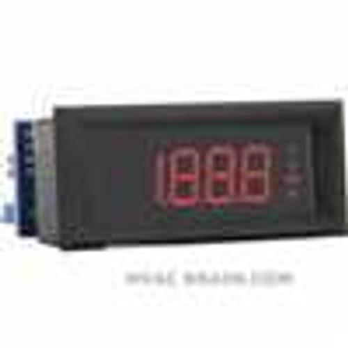 Dwyer Instruments DPMP-403, LCD digital process meter, red segments
