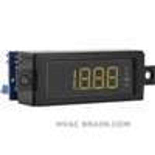 Dwyer Instruments DPMW-402, LCD digital panel meter, green segments