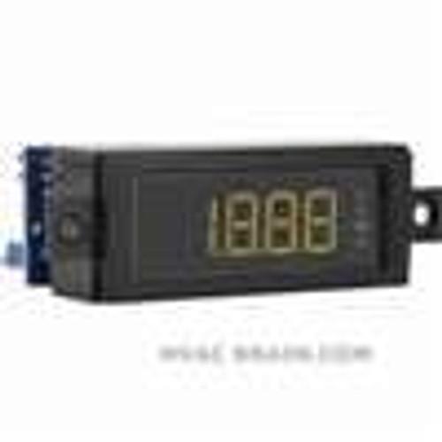 Dwyer Instruments DPMW-404, LCD digital panel meter, red segments
