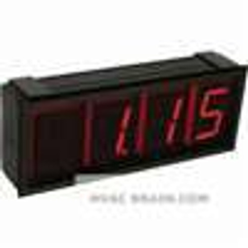 Dwyer Instruments DPMX-1-LV, Extra large digital panel meter, blue LED segment display, with 105 to 30 VAC/VDC supply power