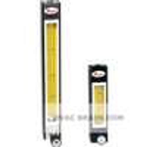 Dwyer Instruments DR10022, Direct reading glass flowmeter, 316 SS float, flow rate 065 SCFH air