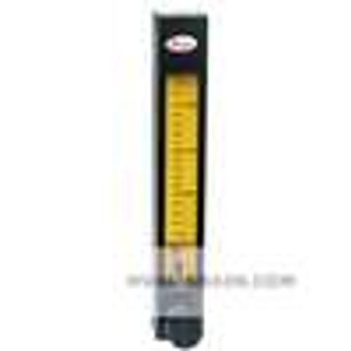 Dwyer Instruments DR4108, High flow glass flowmeter, flow rate 02-4 GPM (1-16 LPM) water