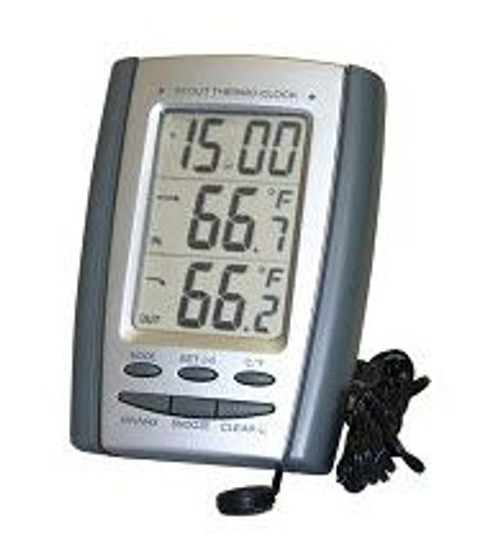 General Tools 10012 7 In & Outdoor Thermometer with Jumbo Display (Replaces DT600P)