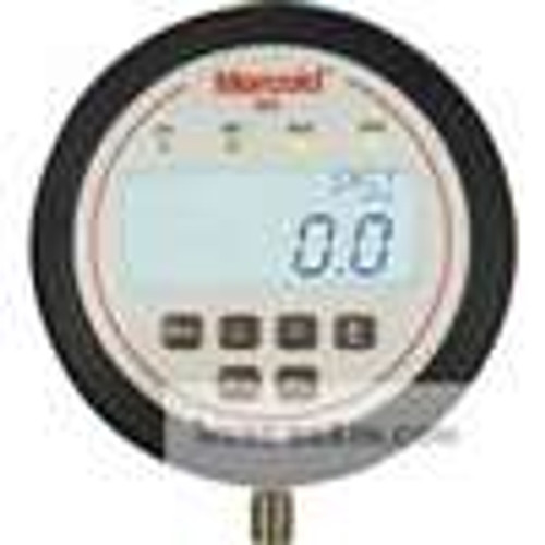 """Dwyer Instruments EDAW-N1E1-05T0, Electronic pressure switch, range 0-150 psi, 1/4"""" male NPT bottom connection, 316L SS, 2 SPDT relays"""