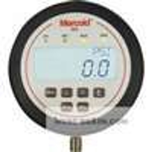 """Dwyer Instruments EDAW-N1E1-07T1, Electronic pressure switch, range 0-600 psi, 1/4"""" male NPT bottom connection, 316L SS, 2 SPDT relays, 4-20 mA output"""