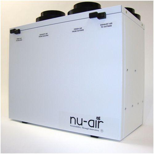Nu-Air ES100, residential ERV (Energy Recovery Ventilator)