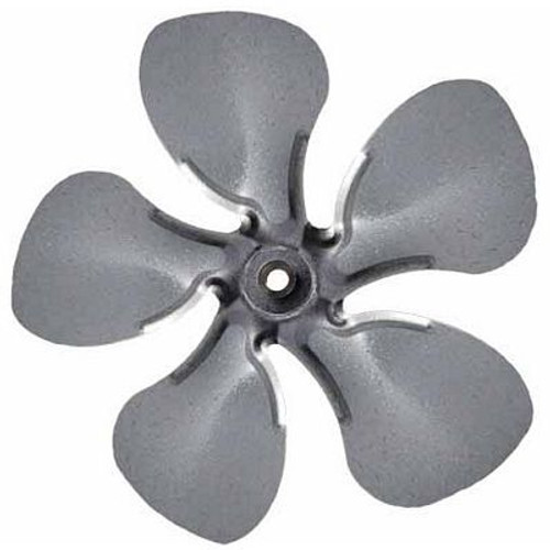 "Packard FB99100, Small Steel Fan Blades With Hubs 12"" Diameter 1/2"" Bore CW Rotation"