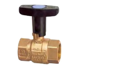 "Cimberio Valve FC1-NPT-1-630-11-12-12, standard isolation ball valve, ball valve with integral strainer, drain valve, 2 (12"") hoses"