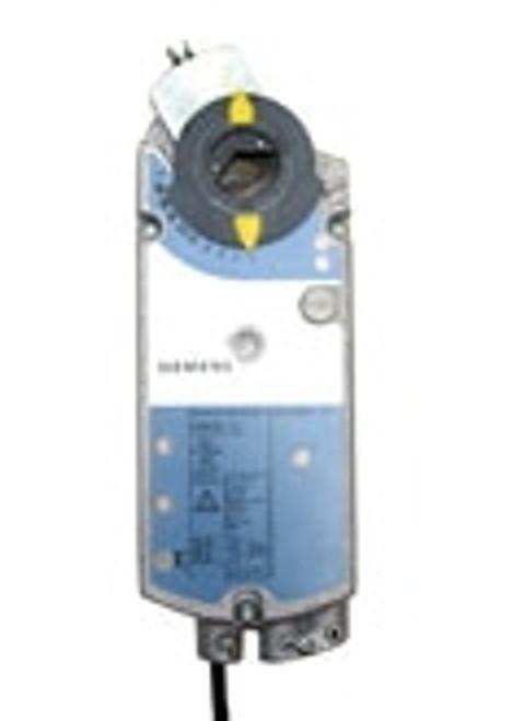 Siemens GIB1611U, OpenAir GIB Series Electric Damper Actuator, rotary, non-spring return, 310 lb-in (35 Nm), 24 Vac/dc, 0 to 10 Vdc control, 125 sec run time