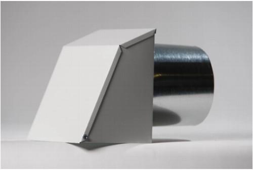Nu-Air HAD-24-X-12, 24 X 12 White Aluminum Outdoor Hood