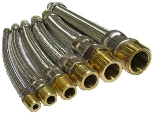 """HCI Flexible Hose Connectors HC-DM _ -18, 1-1/4"""", 18"""""""