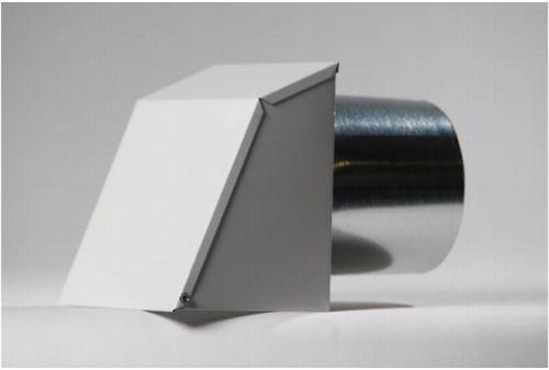 Nu-Air HDA-10-X-6, 10 X 6 White Aluminum Outdoor Hood