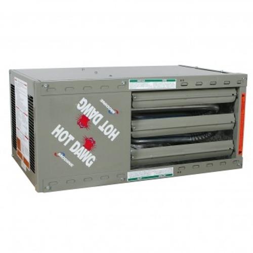 Modine HDS 60, Hot Dawg Separated Combustion - CFM 990 - BTU 60,000 - Aluminized - Propeller Unit