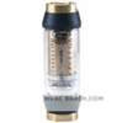 "Dwyer Instruments HFL-4-25, In-line flow monitor, 1"" female NPT, 2-25 GPM (75-95 LPM) oil"