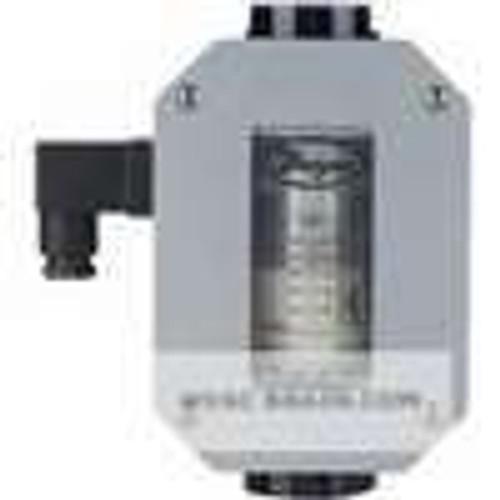 "Dwyer Instruments HFO-21112, In-line flow alarm, range 15-12 SCFM air, 1/4"" female NPT"