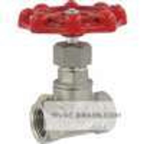 "Dwyer Instruments HGV02, Hand operated globe valve, 1/2"" female NPT, CV of 246"