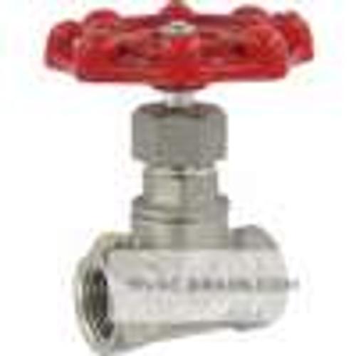 "Dwyer Instruments HGV03, Hand operated globe valve, 3/4"" female NPT, CV of 576"