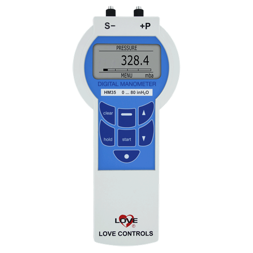 Dwyer Instruments HM3531DLK600 108PSI 1% DGTL M
