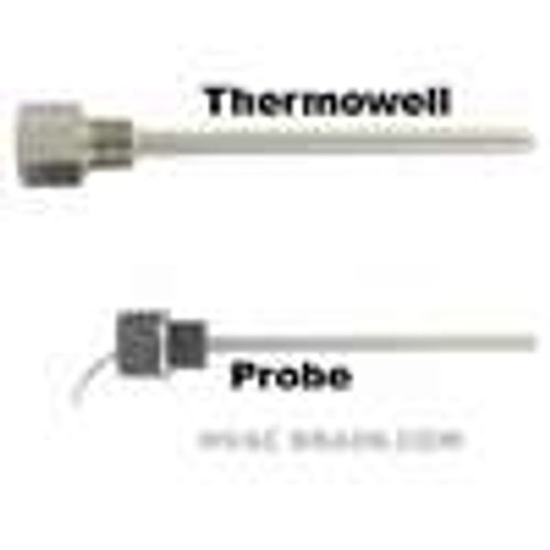 "Dwyer Instruments I2-12062, Immersion temperature sensor, 6"" insertion length, Pt 1000 sensor"