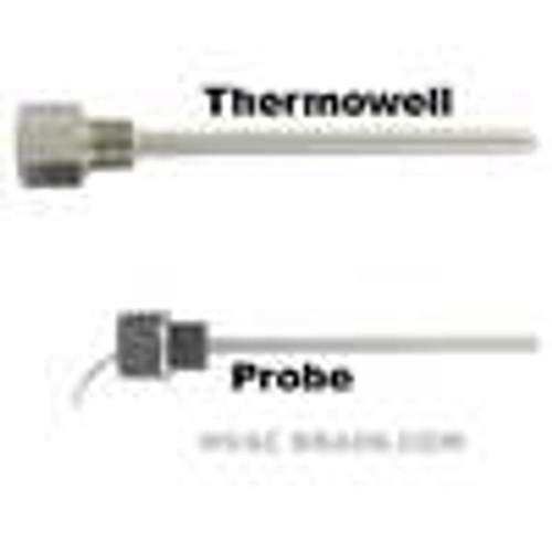 "Dwyer Instruments I2-1A062, Immersion temperature sensor, 6"" insertion length, 2252 Thermistor sensor"
