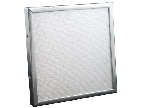 "Permatron IN200-1, 1"" Thick Low-Resistence Industrial Washable Electrostatic Filter 101-200 sq in"
