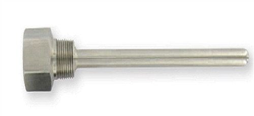 "Dwyer Instruments IW2-242, 4"" SS THERMOWELL"