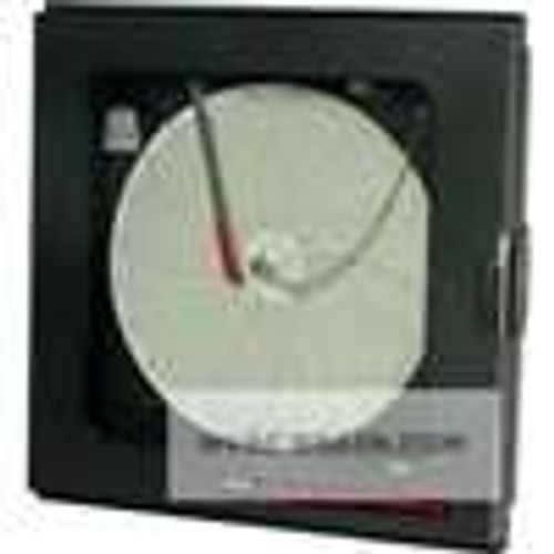 Dwyer Instruments LCR10-101, Circular chart recorder, counter clockwise rotation, no output