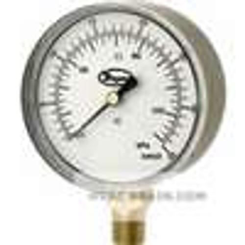 """Dwyer Instruments LPG4-D9022N, Low pressure gage, range -6-0-10"""" wc (-15-0-25 kPa)"""