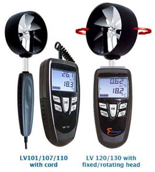 E Instruments LV130S (22211), Thermo-Anemometers