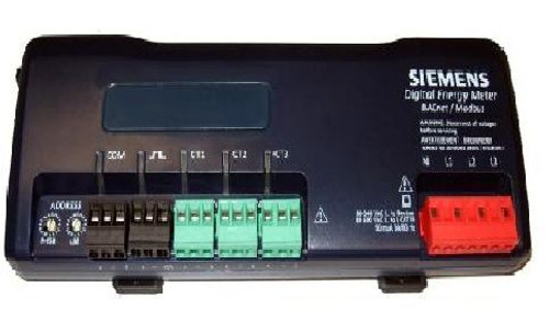 "Siemens MD-BMS-3-RC-36, BACnet-Modbus Meter with three 4000A, 36"" Rogowski Coil CTs with 10"" diameter windows"
