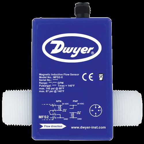 "Dwyer Instruments MFS2-4 1"" 5-100 LPM"