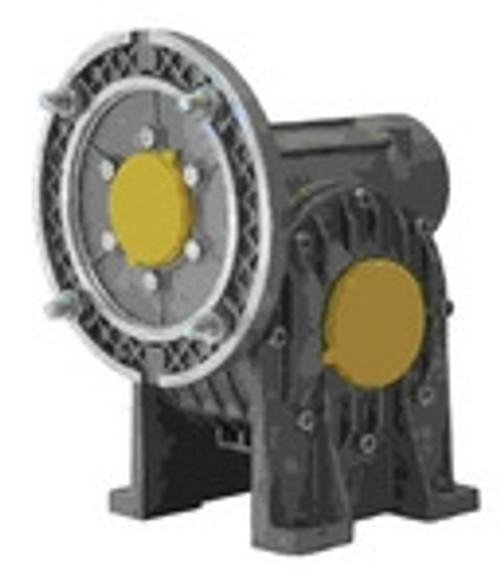 Lafert Motors MI50FP100P14/105-B25, RIGHT ANGLE GBX 100:1 RATIO BORE 25MM