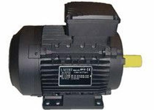 Lafert Motors MS132MS2-460, 125 HP 460V COMPACT BRAKE MOTOR - 3600RPM