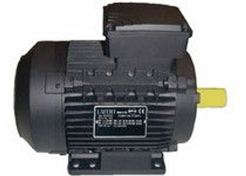 Lafert Motors MS90SC2-460, 200 HP 460V COMPACT BRAKE MOTOR - 3600RPM