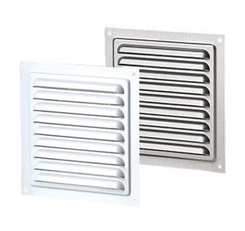 Vents US MVM 125 S ZN, 5x5 Galvanized Steel Vent Grille
