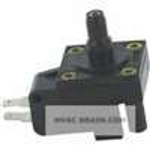"Dwyer Instruments MVS-4, Miniature vacuum switch, min set point 3"" wc (8 mbar), max set point 8"" wc (20 mbar), 1/8"" male NPT process connection"