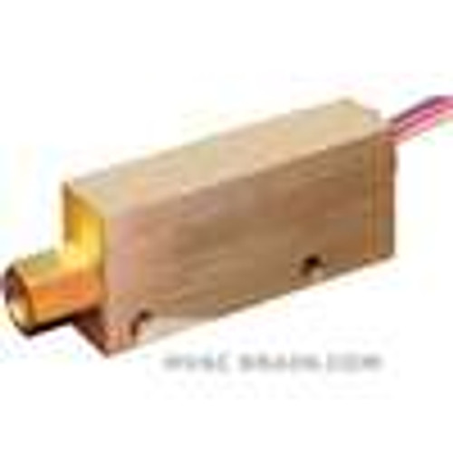 Dwyer Instruments P1-015, Explosion-proof brass flow switch, actuation set point 100 GPM (379 LPM), calibrated for water @ standard conditions