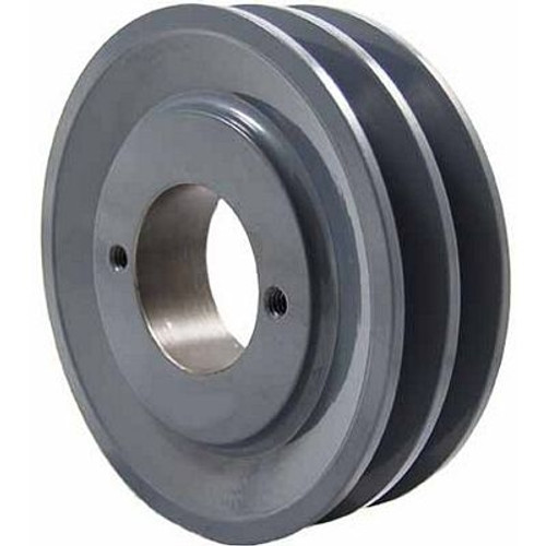 "Packard P2AK39H, Two Groove Bushing Pulleys For 4L Or A Belts 375"" OD"