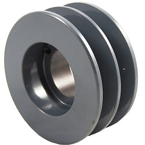 "Packard P2BK130H, Two Groove Bushing Pulleys For 4L Or A Belts And 5L Or B Belts "" OD"