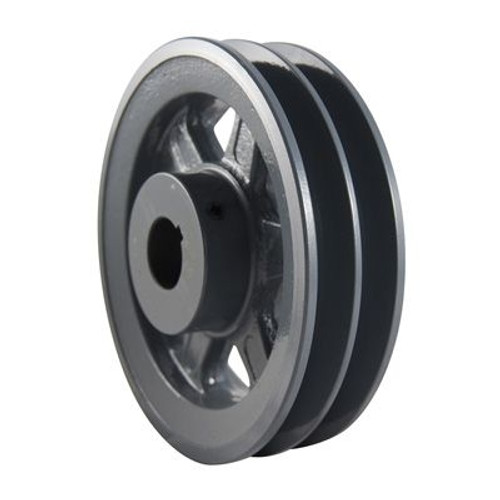 "Packard P2BK2558, Two Groove Pulleys For 4L Or A Belts And 5L Or B Belts 26"" OD 5/8"" Stock Bore"