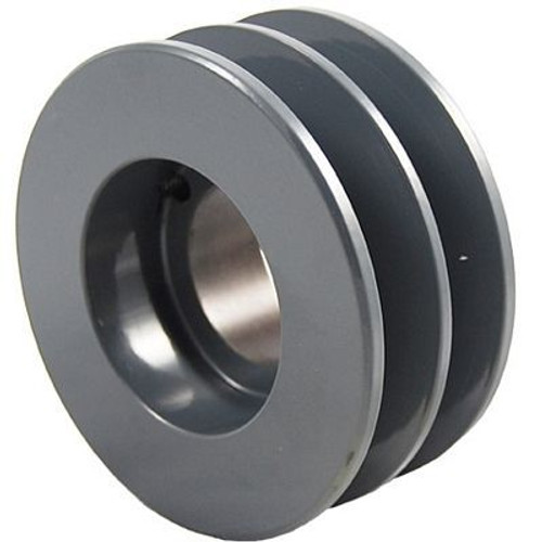 "Packard P2BK34H, Two Groove Bushing Pulleys For 4L Or A Belts And 5L Or B Belts "" OD"
